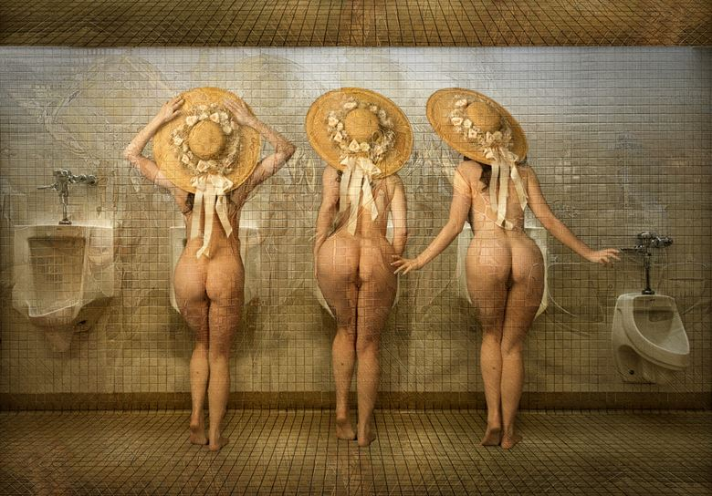 girl s night out on the town artistic nude photo by photographer tom gore
