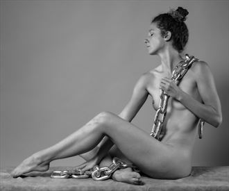 girl with chain artistic nude photo by photographer gpstack
