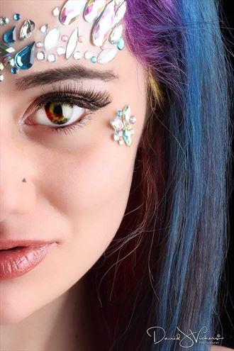 glam goddess fantasy photo by model anastasia maye