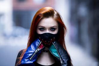 glamour alternative model artwork by photographer randy c photography