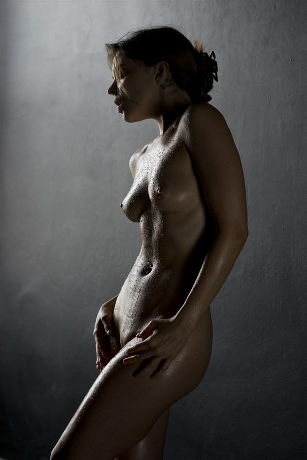 glisten a artistic nude artwork by photographer alan h bruce