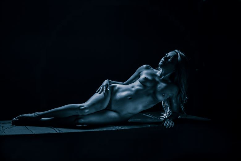 goddess floating on the cosmos part 1 artistic nude artwork by photographer julian i