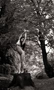 goddess of the forest artistic nude photo by artist finegan