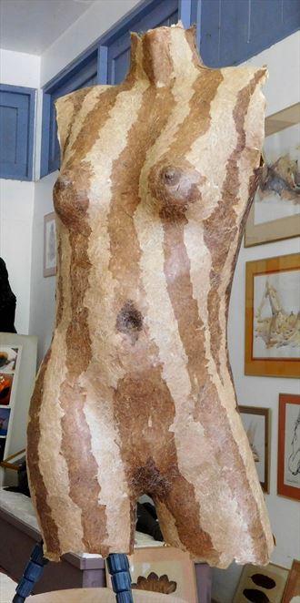 going bananas artistic nude artwork by artist roger burnett