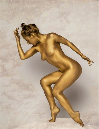 gold artistic nude photo by photographer imooreimages