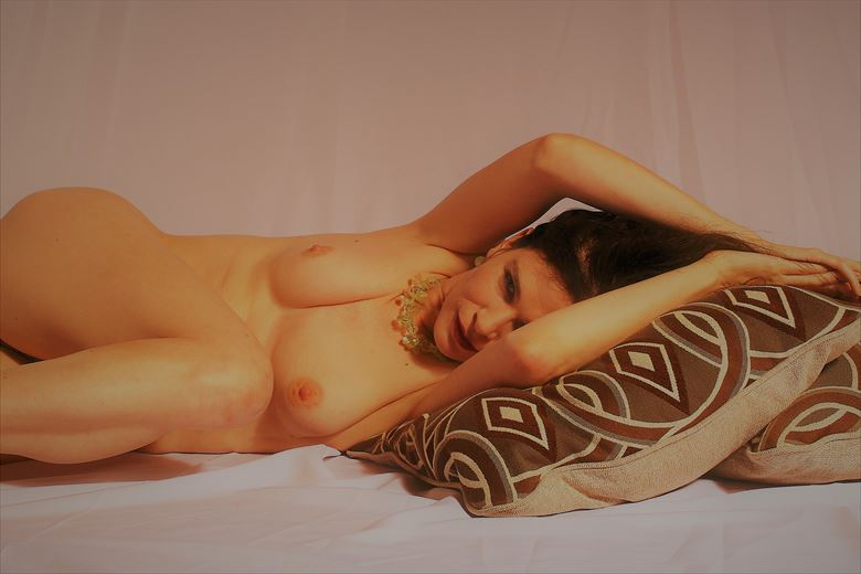 golden body Artistic Nude Photo by Photographer Glamour by Richmond