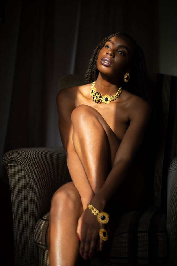 golden hour artistic nude photo by model cestmabellevictoire