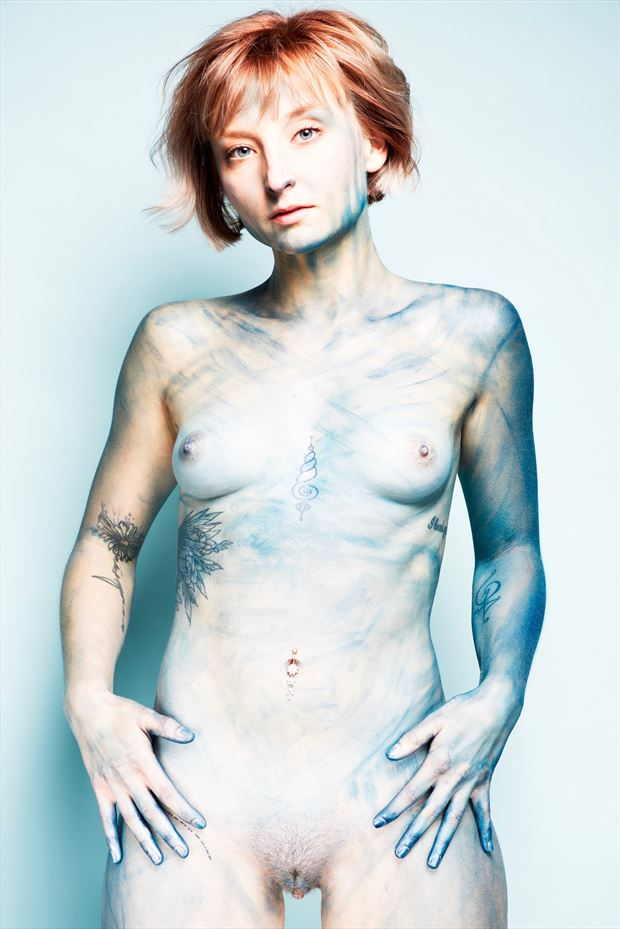 got the blues artistic nude photo by photographer stromephoto
