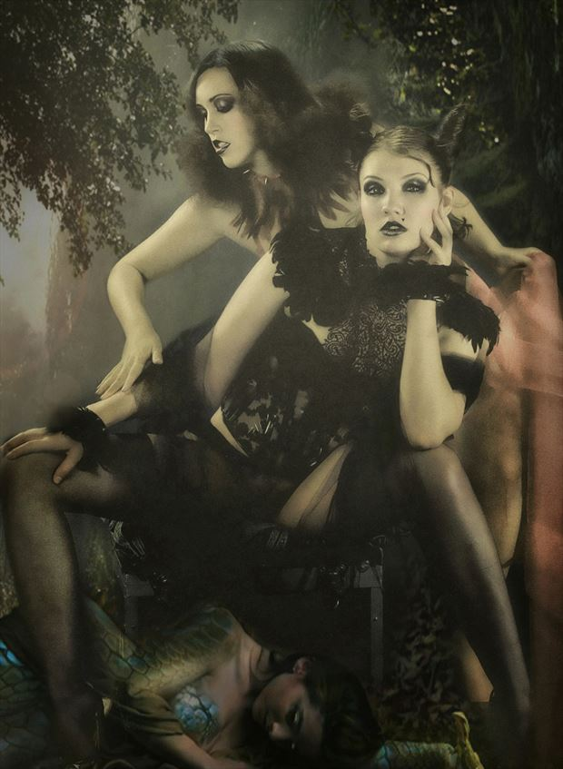 goth 1 fantasy artwork by photographer stefan hudson