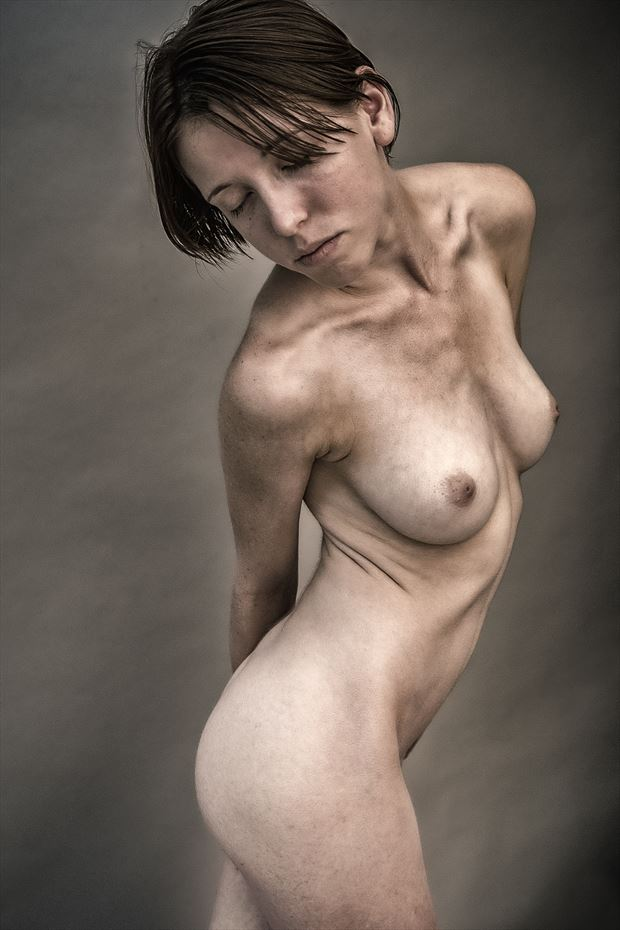 gotta love clavicles artistic nude photo by photographer rick jolson
