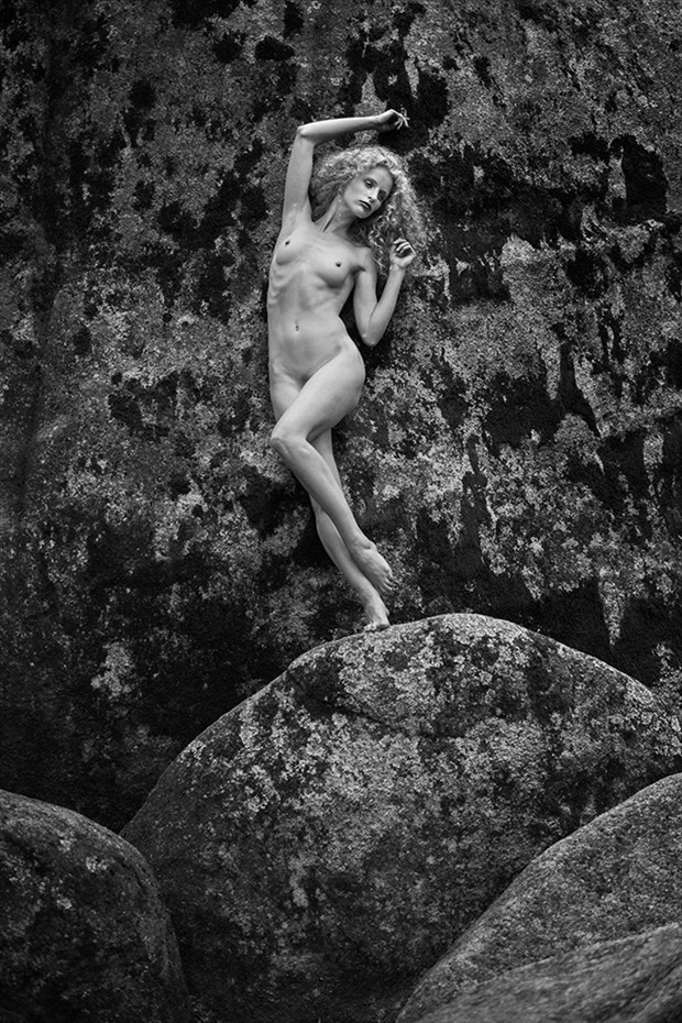 grace and granite 1 Artistic Nude Photo by Photographer Thomas Bichler