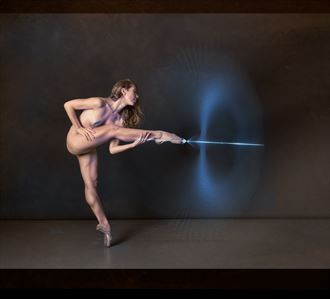 grace through space artistic nude artwork by photographer davechud