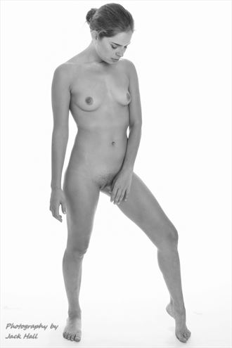 graceful beauty artistic nude photo by photographer jack hall