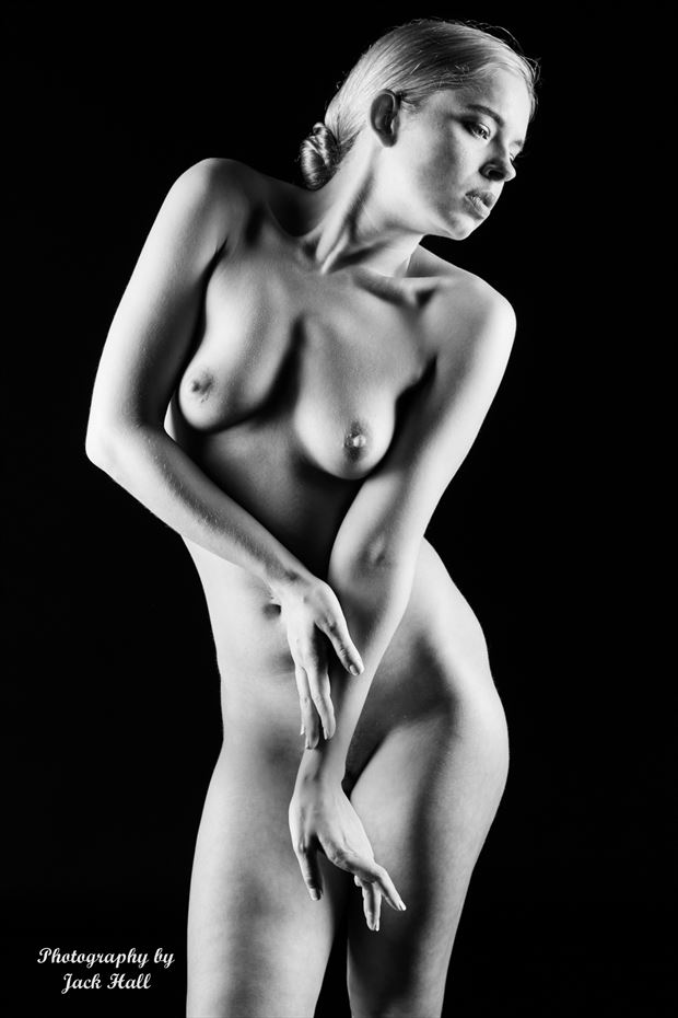 graceful nude artistic nude photo by photographer jack hall