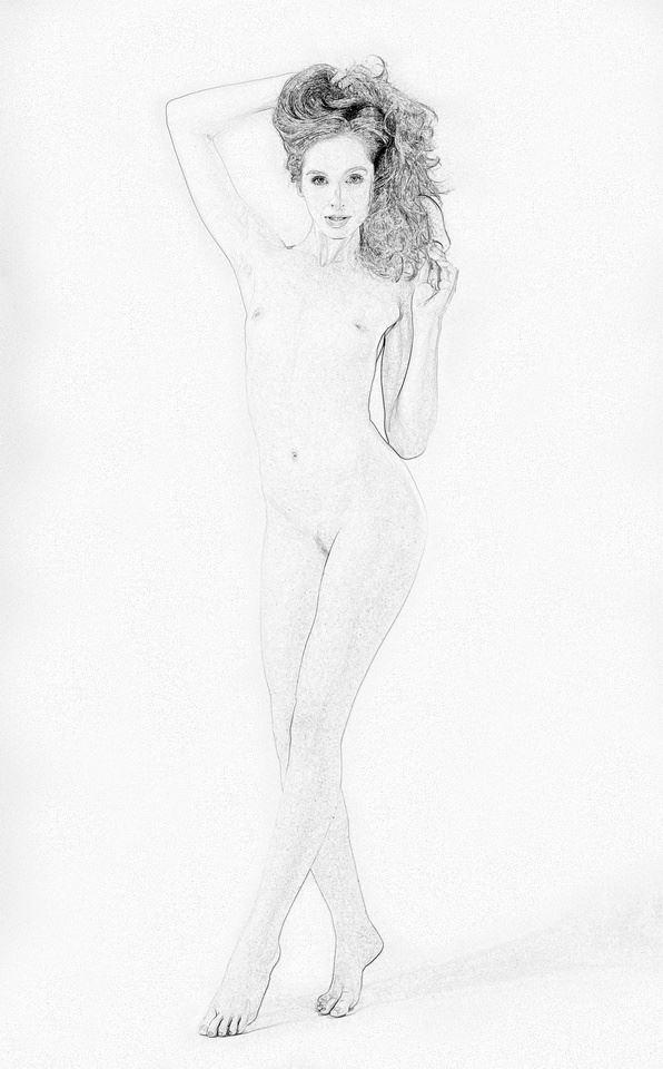 gracile nude artistic nude artwork by photographer anders bildmakare