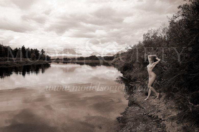 grand teton national park wy artistic nude photo by photographer ray valentine