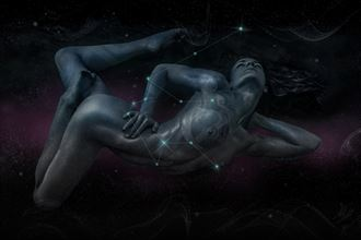 gravity artistic nude artwork by artist todd f jerde