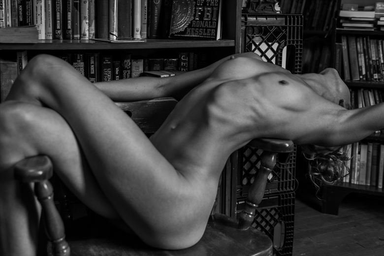 great literature artistic nude photo by photographer dave earl