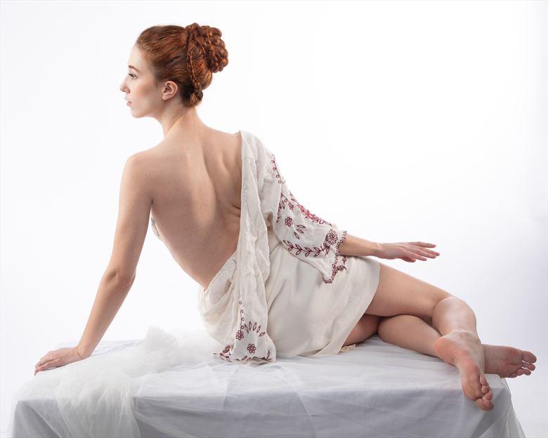 greek goddess artistic nude artwork by photographer photorp