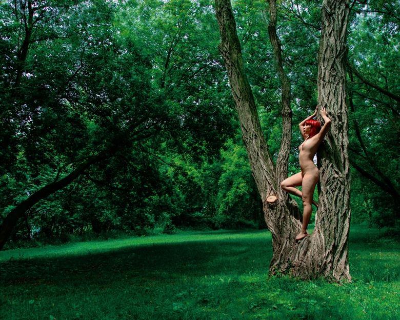 green gaea ii artistic nude photo by photographer anthony gordon