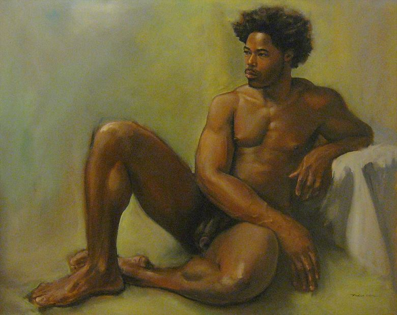 greg artistic nude artwork by artist tai lin