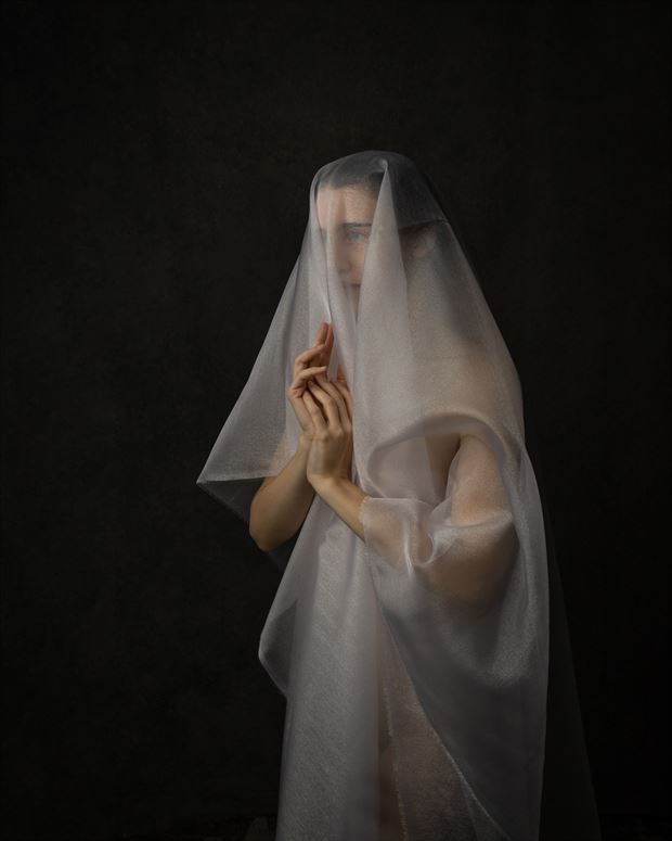 grieving artistic nude photo by photographer eric upside brown