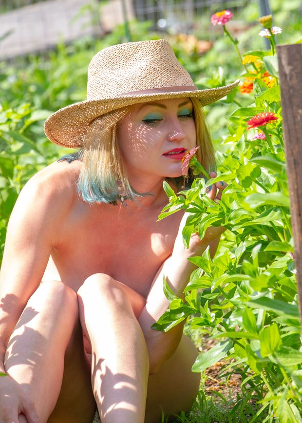 growing wild artistic nude photo by model cali laine