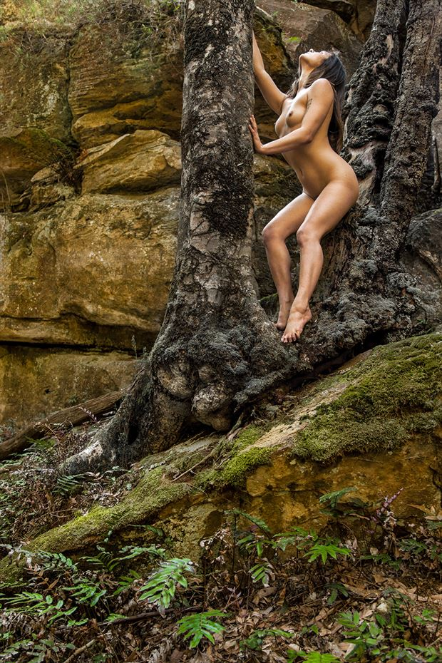 growth of hope artistic nude photo by photographer unmasked