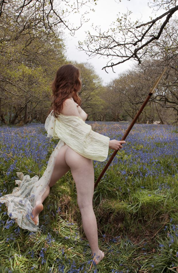 guardian of the valley artistic nude photo by photographer douglas ross