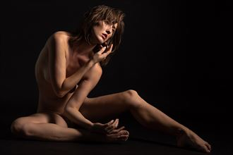 gwen gazing light falling artistic nude photo by photographer 2photographics
