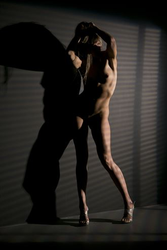 h in my studio artistic nude photo by photographer big v