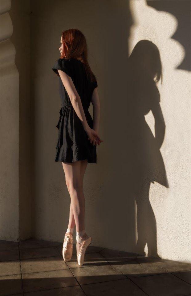 hadley dancer and shadow natural light photo by photographer thatzkatz