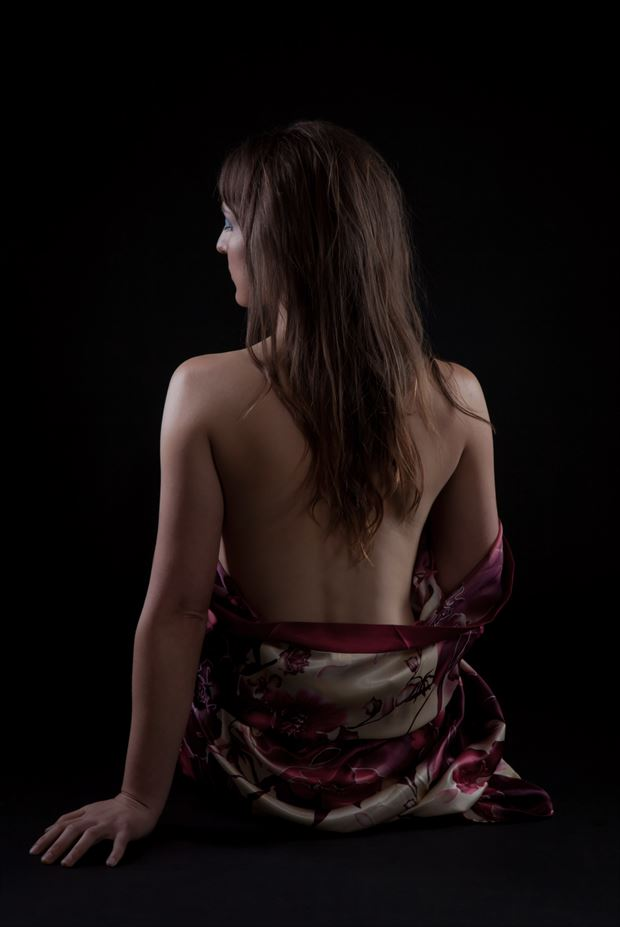 hair artistic nude photo by photographer allan taylor