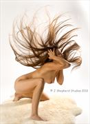 hair flip glamour photo by model beckylesabre