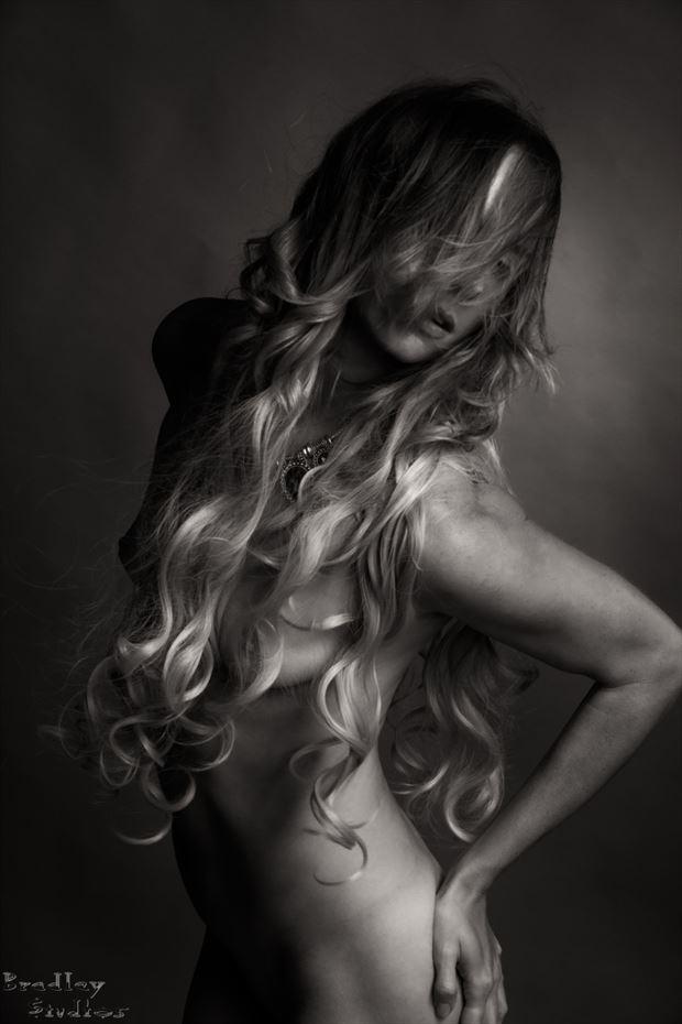 hair talk no 2 artistic nude photo by model alexandra queen
