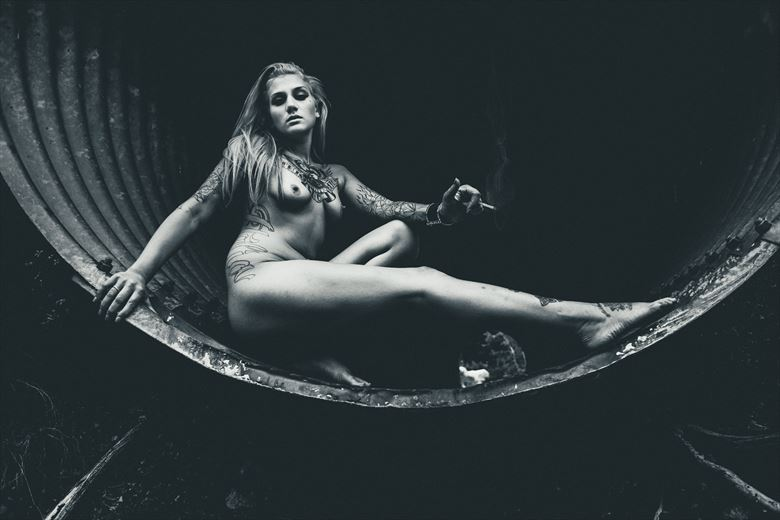 half pipe artistic nude photo by photographer deimos
