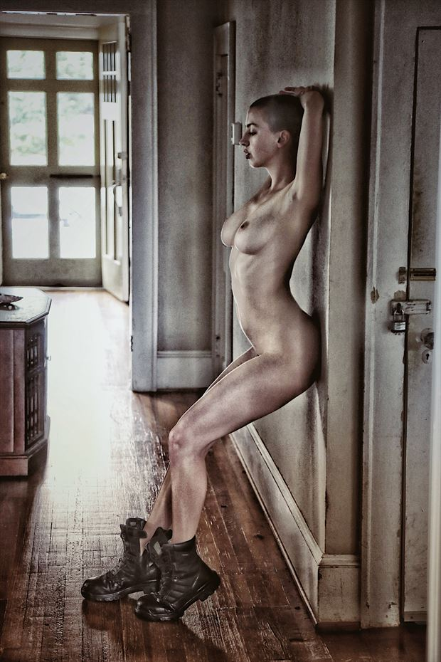 hallway vibes artistic nude photo by photographer ashleephotog