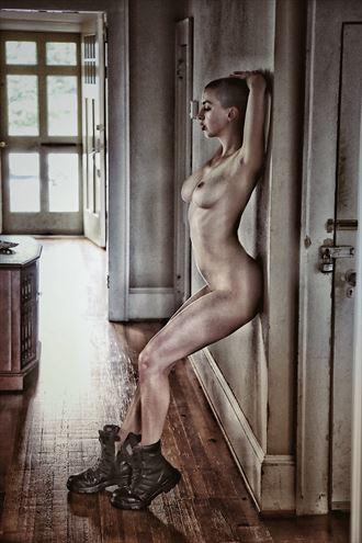 hallway vibes artistic nude photo by photographer ashleephotog