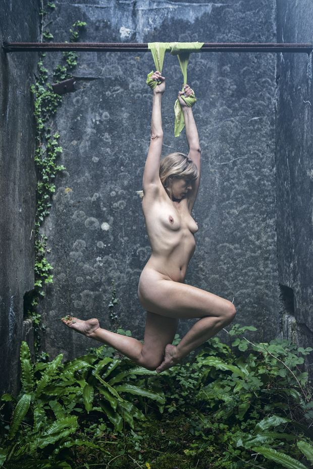 hanging around artistic nude photo by model selkie