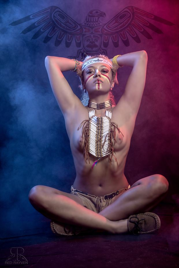 hannah artistic nude photo by photographer red rayven