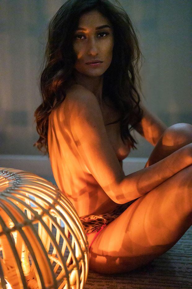 hapa model hawaii lingerie photo by photographer voluptuary media