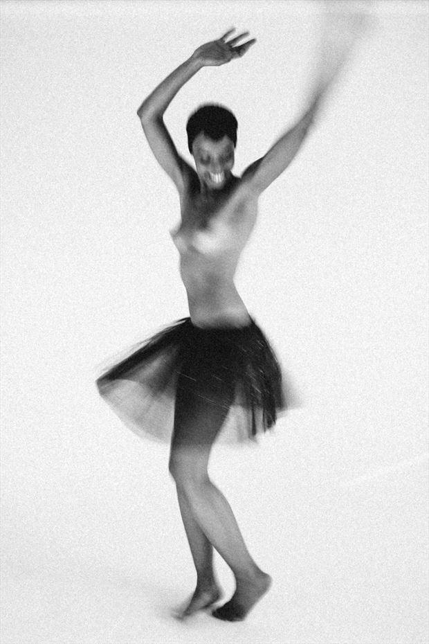 happines artistic nude photo by model sabamodel