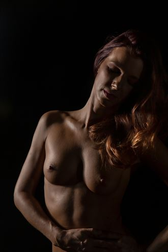happy camper artistic nude photo by photographer bill cole