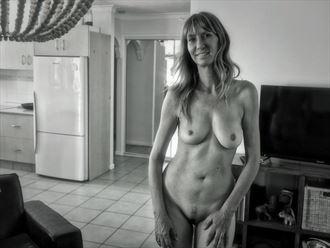 happy model happy photographer artistic nude photo by photographer dvan