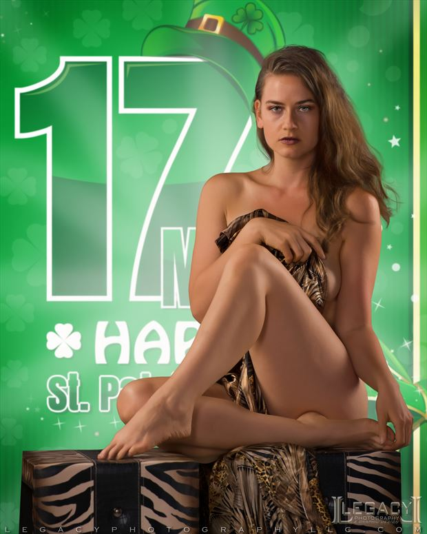 happy st patrick s day 2021 sensual photo by photographer legacyphotographyllc