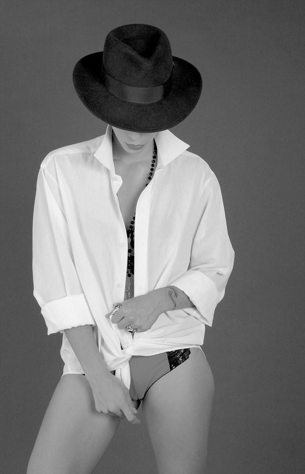 hat and shirt Fashion Artwork by Photographer joe barr