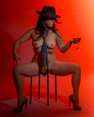 have a drink with me artistic nude artwork by photographer positively exposed