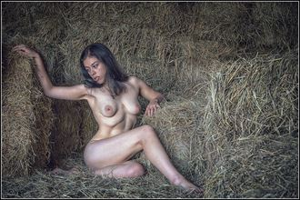 hay there artistic nude photo by photographer magicc imagery