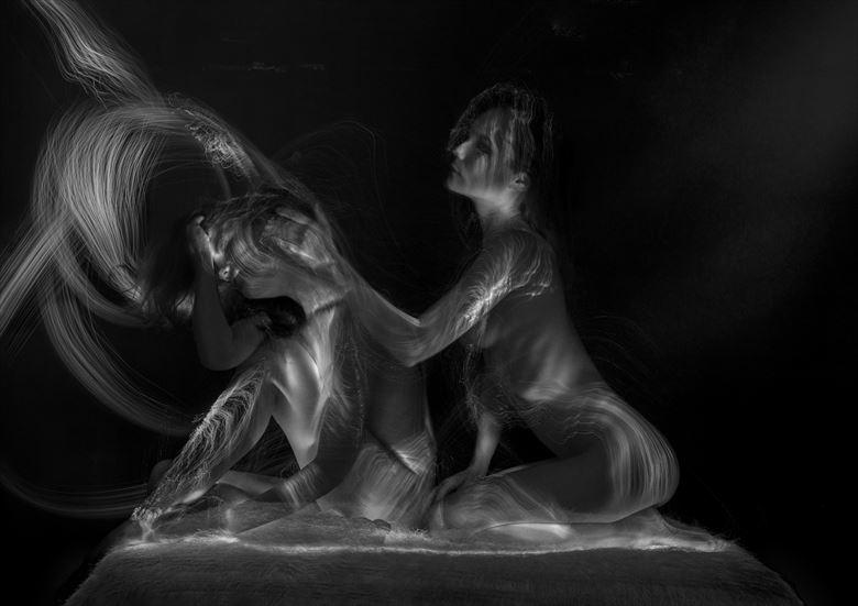 heal thyself artistic nude artwork by photographer davechud