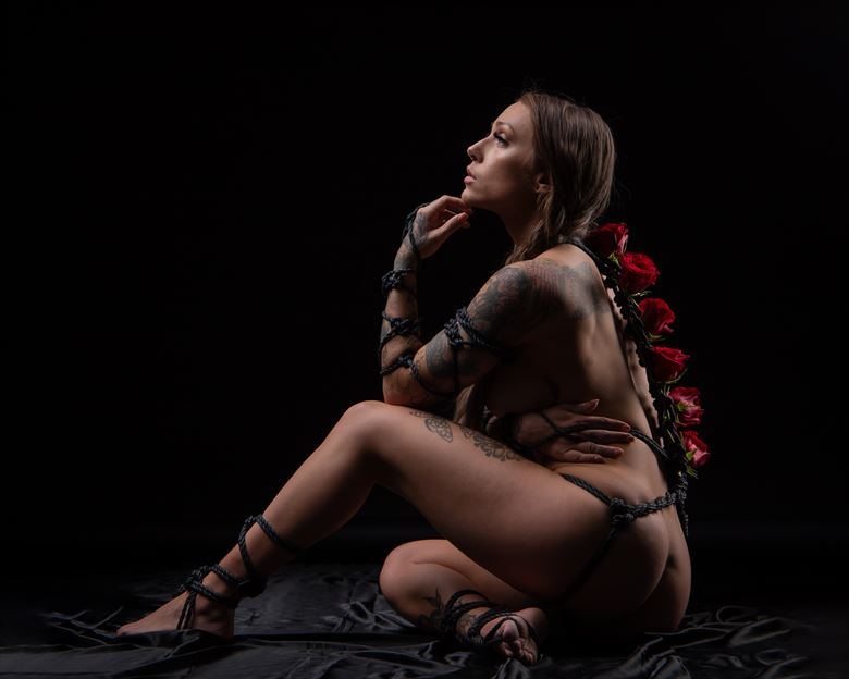 healing trauma artistic nude photo by photographer eric upside brown